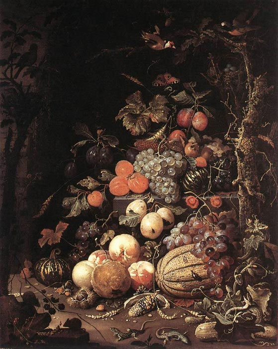 Still-Life,  1672  Painting Reproductions
