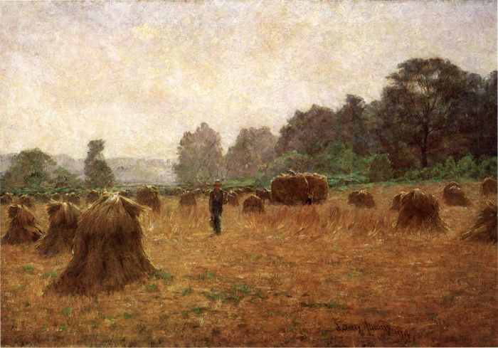 Wheat-wain Afield, 1894  Painting Reproductions
