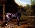 42 Lord Rivers' Roan mare In A Landscape Art Reproductions