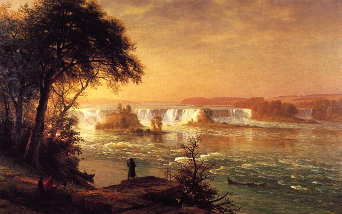 The Falls of St. Anthony, 1880-1887  Painting Reproductions
