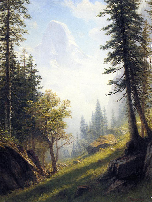Among the Bernese Alps	  Painting Reproductions