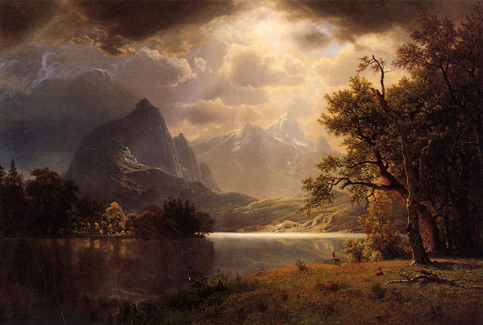 Estes Park, Colorado , 1869	  Painting Reproductions