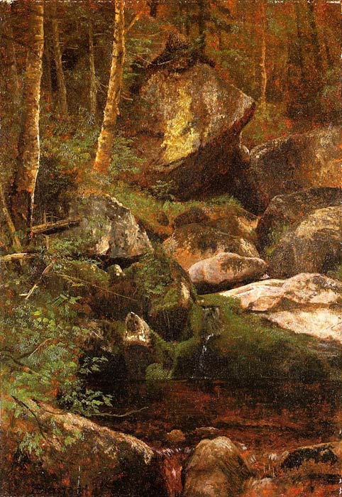 Forest Stream	  Painting Reproductions