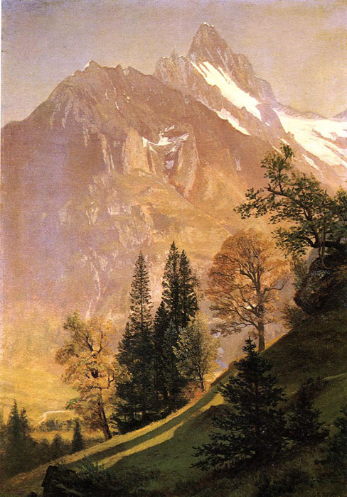 Mountain Landscape	  Painting Reproductions