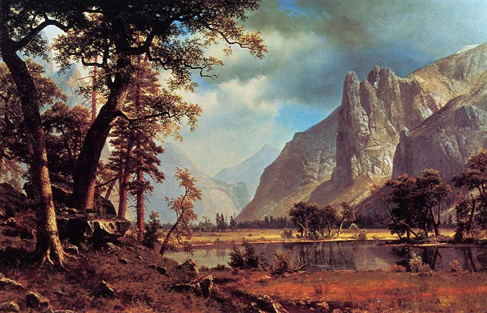 Yosemite Valley , 1866	  Painting Reproductions