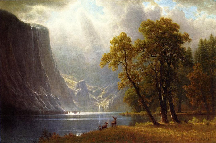 Yosemite Valley  Painting Reproductions