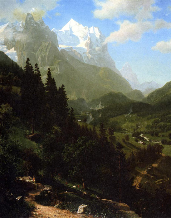 The Wetterhorn , 1857	  Painting Reproductions