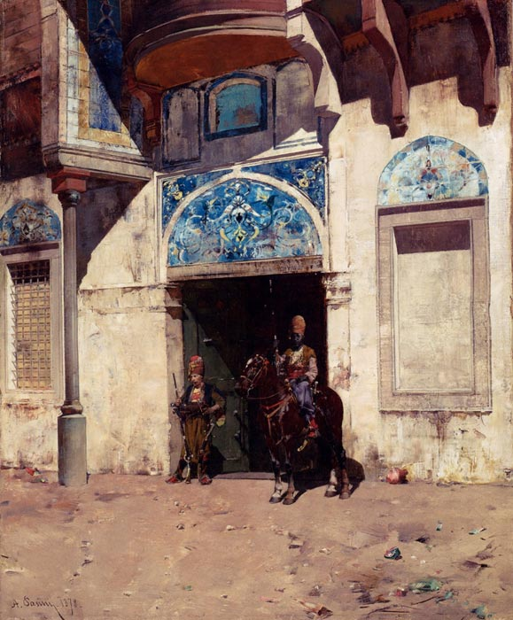 The Palace Guard, 1878  Painting Reproductions