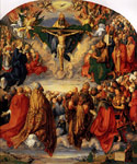 2326 Adoration of the Trinity, 1511 Art Reproductions