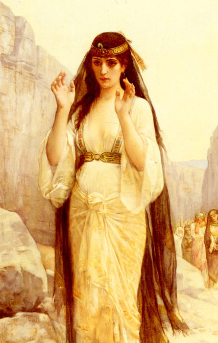 The Daughter Of Jephthah, 1879  Painting Reproductions