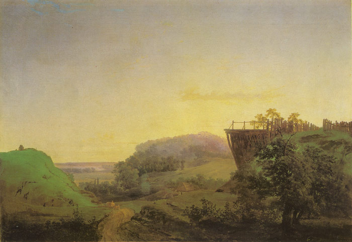 Ukranian Landscape, 1850  Painting Reproductions