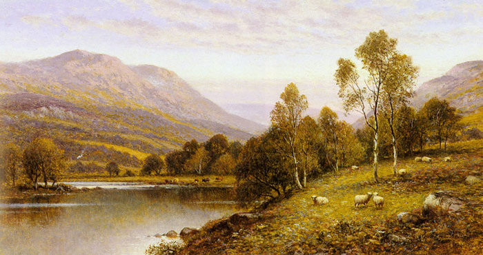 Early Evening, Cumbria  Painting Reproductions