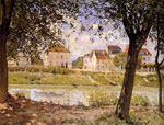 0 Villeneuve-la-Garenne, 1872 Art Reproductions