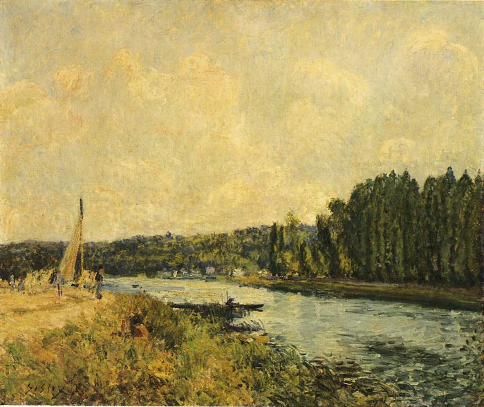 River Banks, 1878  Painting Reproductions