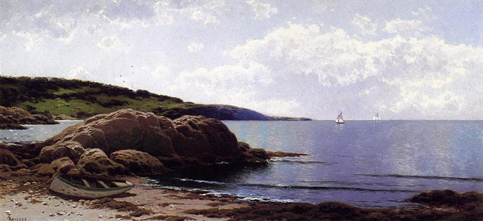 Baily's Island, Maine, c.1907  Painting Reproductions