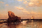 0 By the Shore, 1883 Art Reproductions