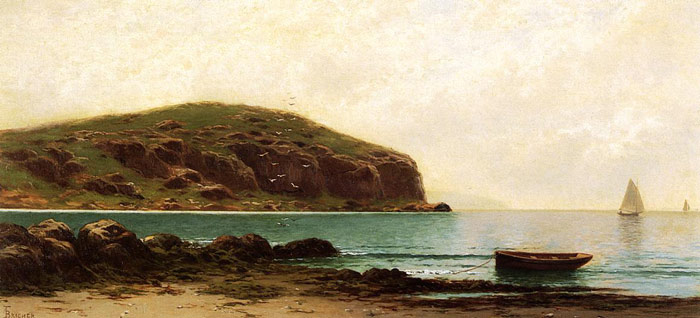 Coastal View  Painting Reproductions