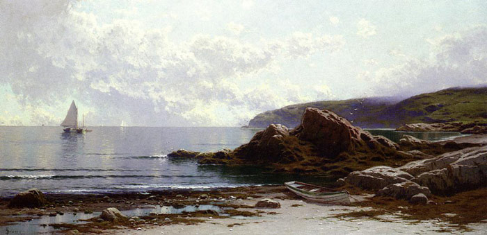 Sailing off the Coast Bricher, Alfred Thompson Painting Reproductions