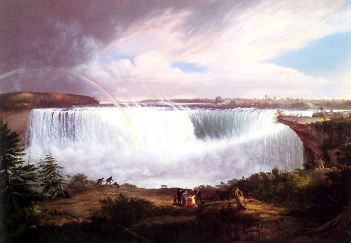 The Great Horseshoe Falls, Niagara, 1820  Painting Reproductions