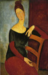 Modigliani, Amedeo Jeanne Hebuterne- The Artist's Wife, 1918 Art Reproductions