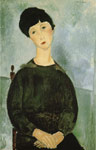 Modigliani, Amedeo Young Girl, 1918 Art Reproductions