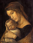 5347 Madonna with Sleeping Child, c.1465-1470 Art Reproductions