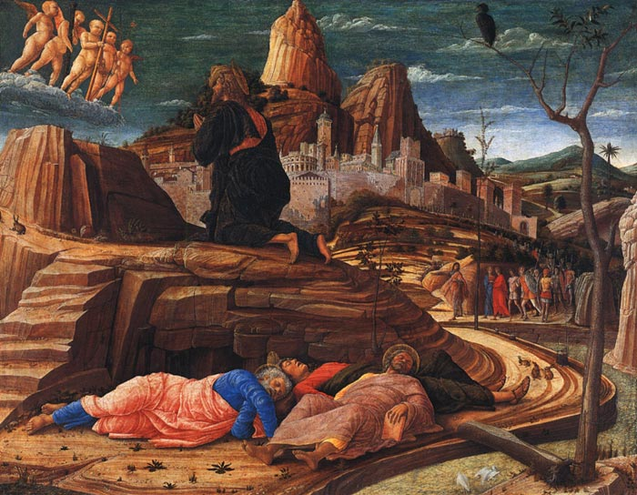 Agony in the Garden, c.1459 Mantegna, Andrea Painting Reproductions