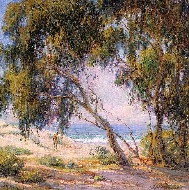Beside the Sea, Laguna Beach, 1921  Painting Reproductions