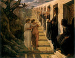 Janmot, Anne- Francois- Louis The Poem of the Soul - The Wrong Path Art Reproductions