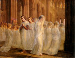 Janmot, Anne- Francois- Louis The Poem of the Soul - First Communion, c.1851 Art Reproductions
