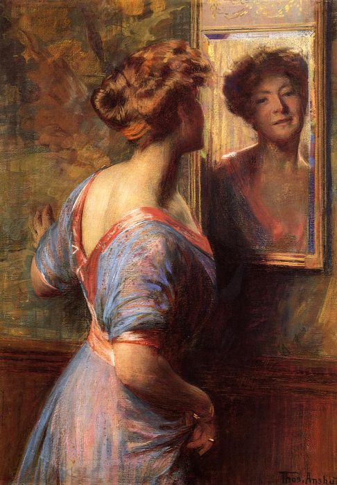 A Passing Glance  Painting Reproductions