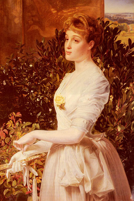 Portrait Of Julia Smith Caldwell  Painting Reproductions