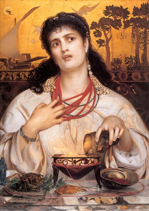 Medea, 1866-1868  Painting Reproductions