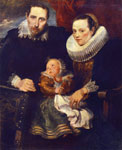 Dyck, Sir Antony van Family Portrait, 1618-1620 Art Reproductions