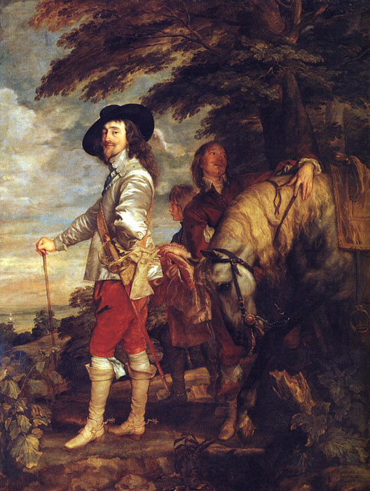 Charles I: King of England at the Hunt, 1635  Painting Reproductions