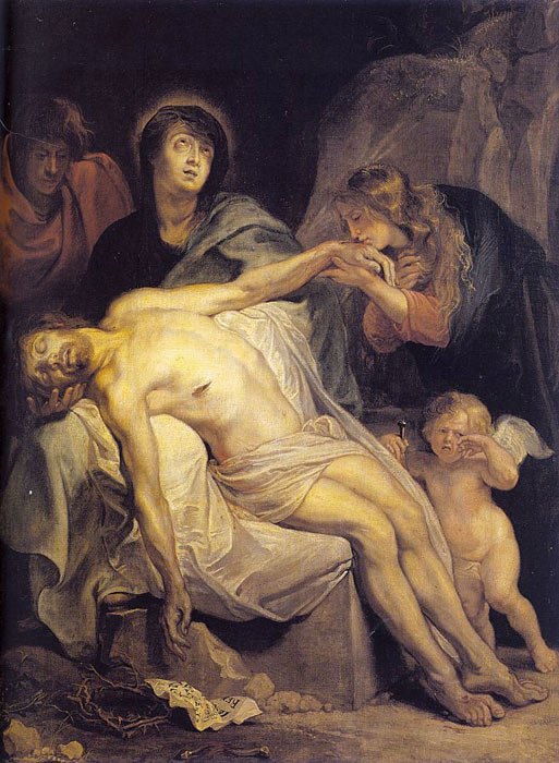 The Lamentation, 1618-1620  Painting Reproductions
