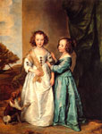 Dyck, Sir Antony van Philadelphia and Elizabeth Wharton, c.1635-1640 Art Reproductions