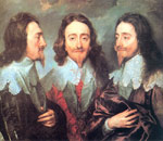 Dyck, Sir Antony van Charles I in Three Positions, 1635-1636 Art Reproductions