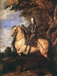Dyck, Sir Antony van Charles I on Horseback, c.1635 Art Reproductions