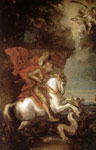 Dyck, Sir Antony van St George and the Dragon Art Reproductions