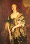 Dyck, Sir Antony van Portrait of Anne Carr, Countess of Bedford (1615-1684) Art Reproductions