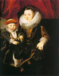 Dyck, Sir Antony van Young Woman with a Child, 1618 Art Reproductions