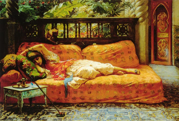 The Siesta, 1878  Painting Reproductions