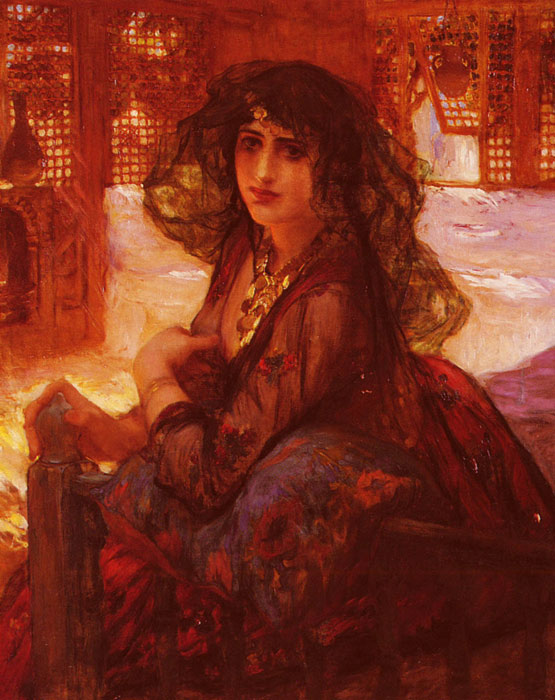 Harem Girl  Painting Reproductions