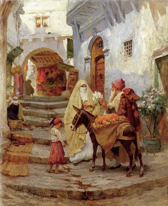 The Orange Seller, 1920  Painting Reproductions