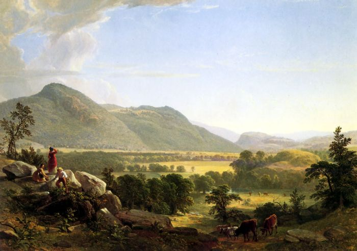 Dover Plain, Dutchess County, New York, 1848  Painting Reproductions