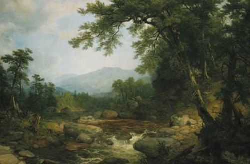 Monument Mountain, Berkshires, 1855/1860  Painting Reproductions