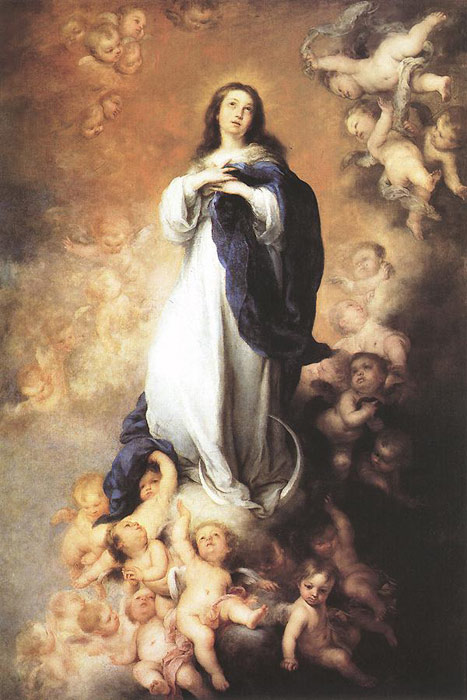 Immaculate Conception, c.1678  Painting Reproductions