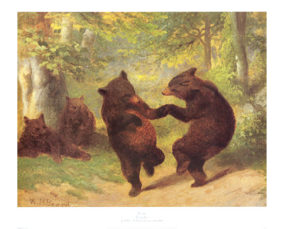 Dancing Bears  Painting Reproductions
