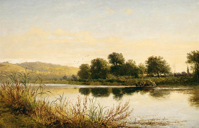 Streatley-on-Thames, 1874  Painting Reproductions